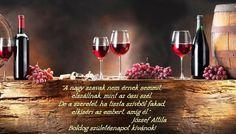 BOLDOG SZÜLETÉSNAPOT KÍVÁNUNK! Red Wine, Alcoholic Drinks, Happy Birthday, Glass, Excercise, Budapest, Singapore, Paint, Google