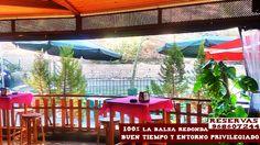 Y tras una gran Martes de Bando de la Huerta ¡ Ven a relajarte a la Balsa Redonda, gran día, buena temperatura, gran sol,  entorno natural privilegiado y una agradable brisa para disfrutar de un buen aperitivo !¿apetece? Reservas 968607244