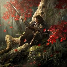 I don't fight in tournaments because when I fight a man for real, I don't want him to know what I can do... By Michael Komarck for the 2009 A Song of Ice & Fire Calendar