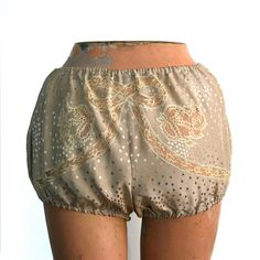 Silk Bloomers Boho Shorts, Lace Shorts, Thailand Fashion, Textiles, Sewing, Trending Outfits, Fabric, Vintage, Etsy