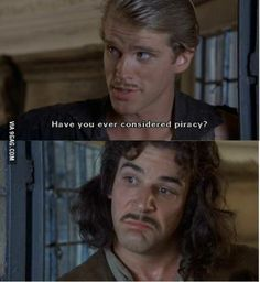 Princess Bride. I love this movie