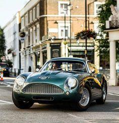 Old Aston Martin db