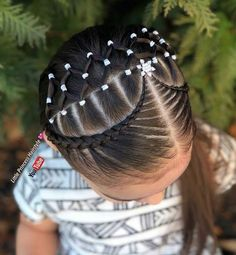 teenage hairstyles girls To Get Simply Hairstyles, Work Hairstyles, Little Girl Hairstyles, Braided Hairstyles, Teenage Hairstyles, Girl Hair Dos, Baby Girl Hair, Braid Styles For Girls, Curly Hair Styles
