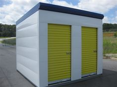 Self storage solutions to fit every need: storage roll up doors, swing doors, portable storage units, security and access control for storage unit doors. Roll Up Garage Door, Roll Up Doors, Garage Doors, Self Storage, Built In Storage, Portable Storage Buildings, Metal Storage Sheds, Mini Rolls, Modern Garage