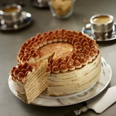 Pancake cake recipe tiramisu by Francine. Uncover our tiramisu pancake cake recipe, and all our different straightforward cooking recipes: pizza, Desserts With Biscuits, Ice Cream Desserts, Easy Desserts, Brownie Recipes, Cake Recipes, Pizza Recipes, Tiramisu Pancakes, Pancake Cake, Gula