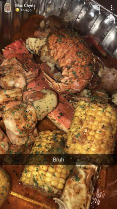 for more popping pins add Seafood Boil Recipes, Seafood Dishes, Boiled Food, Food Goals, Food Cravings, I Love Food, Soul Food, Food Inspiration, Carne