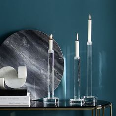 Crystal Candleholders   west elm