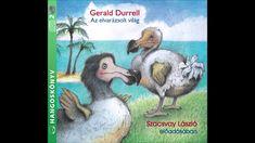 Gerald Durrell: Az elvarázsolt világ (A rózsaszíngalamb-hajcihő) Gerald Durrell, Mauritius, Grinch, Cover, Books, Art, Art Background, Libros, Book