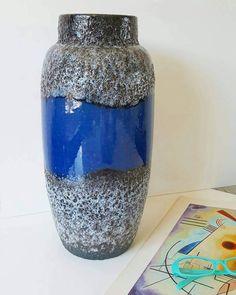 Bekijk dit items in mijn Etsy shop https://www.etsy.com/nl/listing/507274662/scheurich-fat-lava-vase-floor-vase