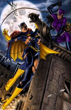 Batgirl vs. Catwoman