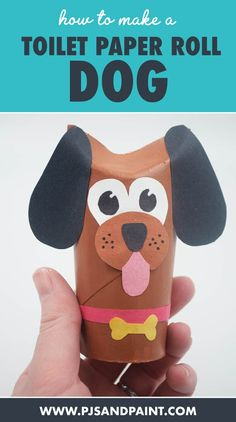 Hand Crafts For Kids, Cute Kids Crafts, Animal Crafts For Kids, Preschool Crafts, Art For Kids, Kids Fun, Toddler Art, Toddler Crafts, Puppy Crafts