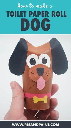 Hand Crafts For Kids, Cute Kids Crafts, Animal Crafts For Kids, Preschool Crafts, Art For Kids, Kids Fun, Toilet Roll Craft, Toilet Paper Roll Crafts, Toddler Art