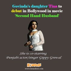 Govinda's daughter Tina to debut in Bollywood in movie 'Second Hand Husband'