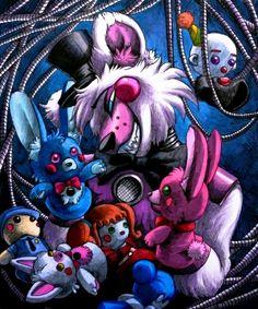 Puppet Playing / Funtime Freddy FNaF SL By Mizuki T A.deviantart.com On