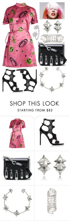 """Zoom Pendulum"" by mandurugo ❤ liked on Polyvore featuring Miu Miu, Versus, Dsquared2, Ross-Simons and Bee Goddess"