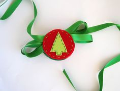 Christmas holiday garland with Trees and by FishesMakeWishesHome