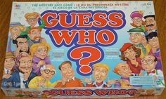 Guess Who? Childhood Board Game