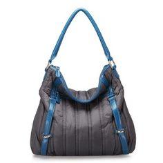 Vintage shoulder bag for women with snake line blue Best Bags, Hobo Bag, Fashion Handbags, Pu Leather, Street Style, Shoulder Bag, Sport, Casual, Blue