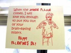 Zombie Valentine, natch