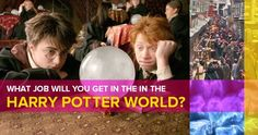 What Job Will You Get In The Harry Potter World?