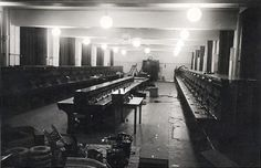 """Barracks Airfield Woensdrecht july 1940"" To me it looks like an Ops Room"