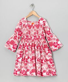 Take a look at this Pink Jazz Love Garden Dress - Toddler & Girls by Masala Baby on #zulily today!