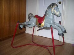 old+toys | Old spring style toy Rocking Horse for sale in Bracebridge, Ontario ...