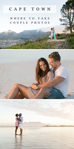 Couple shoot ideas in and around Cape Town - Beach engagement shoots to Signal Hill and the Winelands.