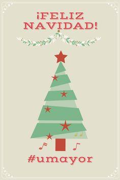 Que el amor de tu familia, la felicidad, las emociones positivas sean lo que más importe en esta fantástica noche. ¡FELIZ NAVIDAD te desea la UMayor! #navidad #feliznavidad #umayor #universidad #university