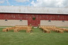 Side of barn...One of 3 favorite locations at the farm for a ceremony.