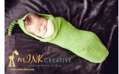 Lovely-Baby-Infant-Toddler-Costume-Knit-Photography-Props-Crochet-Peas-Bag-Hat