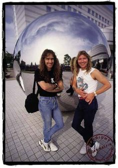 Steve and Dave 1986