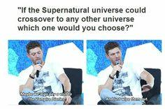 supernatural Jensen ackles Jared padelecki