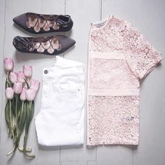 Flat Shoes Outfit, Outfits, Shopping, Tops, Style, Loafers & Slip Ons, Outfit, Shell Tops, Clothes