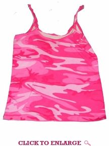 fc280eef86c Pink Camo! Cute and Sexy! Guys will love you in this Adorable camisole tank