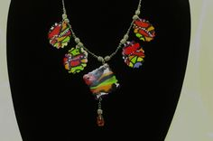 Comic Book Necklace. SOLD