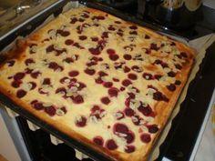 Rezept: Himbeer-Quark-Kuchen vom Blech