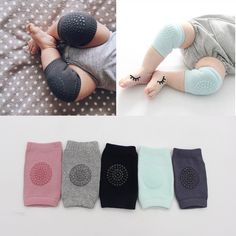 >> Click to Buy << 1 Pair Cotton Baby Knee Pads Kids Anti Slip Crawl Safety Necessary Environmental dot rubber Knee Protector infant Leg Warmers #Affiliate