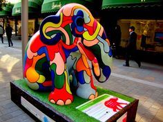 elephant parade was recently in london in 2010