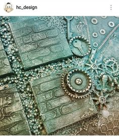 Mixed media painting by HC Design Picture from Instagram