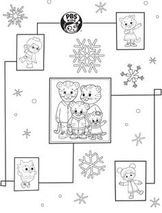 happy birthday tiger coloring pages | 1000+ images about Daniel Tiger on Pinterest | Daniel ...