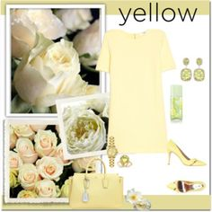 In La La Land: Yellow Dresses