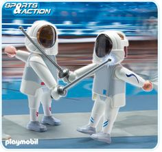 Playmobil fencing