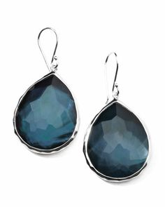 Sterling Silver Wonderland Teardrop Earrings in Indigo by Ippolita at Bergdorf Goodman.