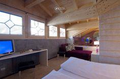 Panoramica su una suite dell'hotel Concordia