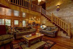 Georgia Cabins - Papa Bear Lodge | Morning Breeze Cabin Rentals
