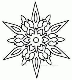 snowflake images to print   coloring pages snowflakes Snowflakes ...