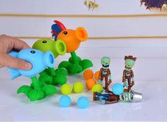Hot sale 23 Style New Popular Game PVZ Plants vs Zombies Peashooter PVC Action Figure Model Toys 10CM Plants Vs Zombies Toys