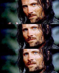 Viggo Peter Mortensen as Aragorn Aragorn Lotr, Legolas, Arwen, Fellowship Of The Ring, Lord Of The Rings, Viggo Mortensen Aragorn, O Hobbit, J. R. R. Tolkien, Weak In The Knees