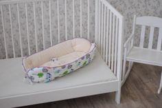Кокон для новорожденного HoneyMammy с фиксатором Совы